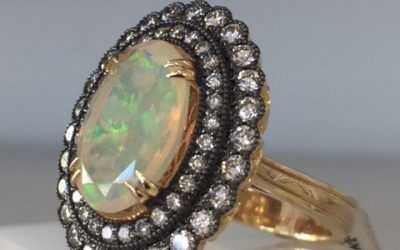 October Birthstones: Opal and Tourmaline Jewelry